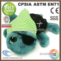 Wholesale Safety Customize Plush Toys Pirate Turtle