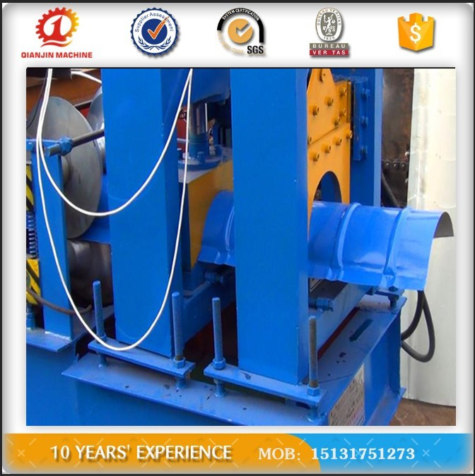 Color Steel Automatic Roof Ridge Cap Galvanized Roll Forming Machine