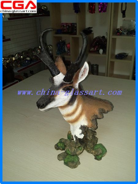 Fancy Polyresin Figurine animal resin home decor painted polyresin handicrafts effigy