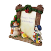 Happy Trails Christmas Snowmen Picture Frame For Sale