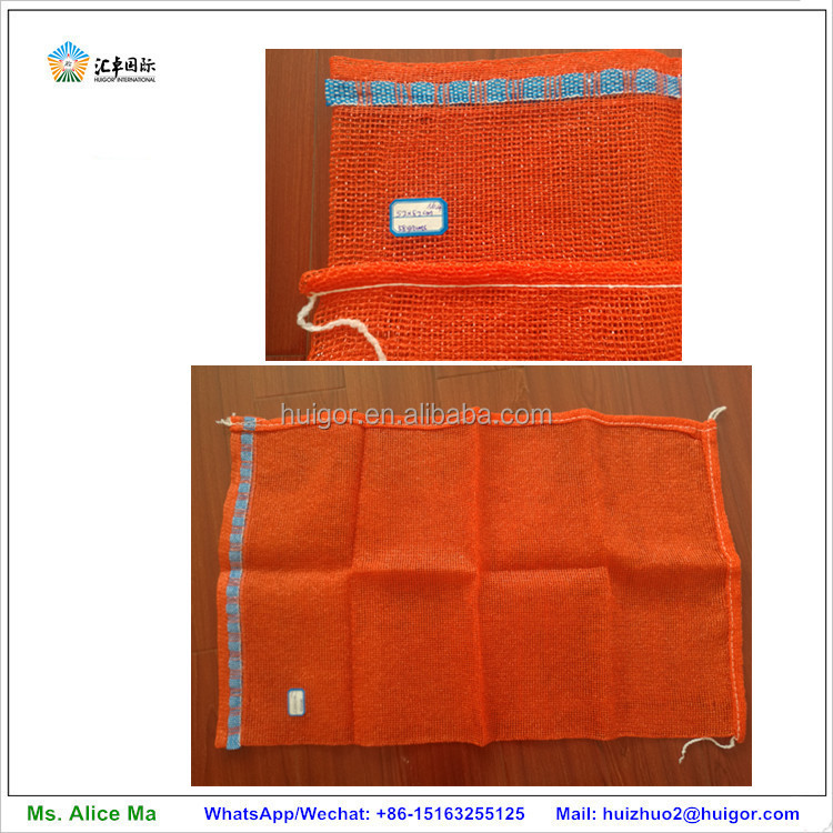 cheap good tubular mesh produce pp fruit net bag packing orange onion