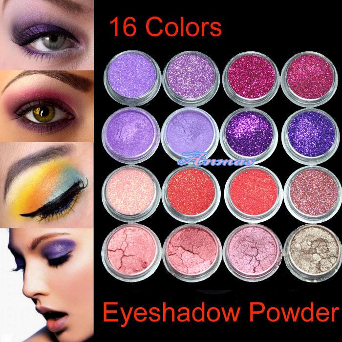 Eye powder makeup
