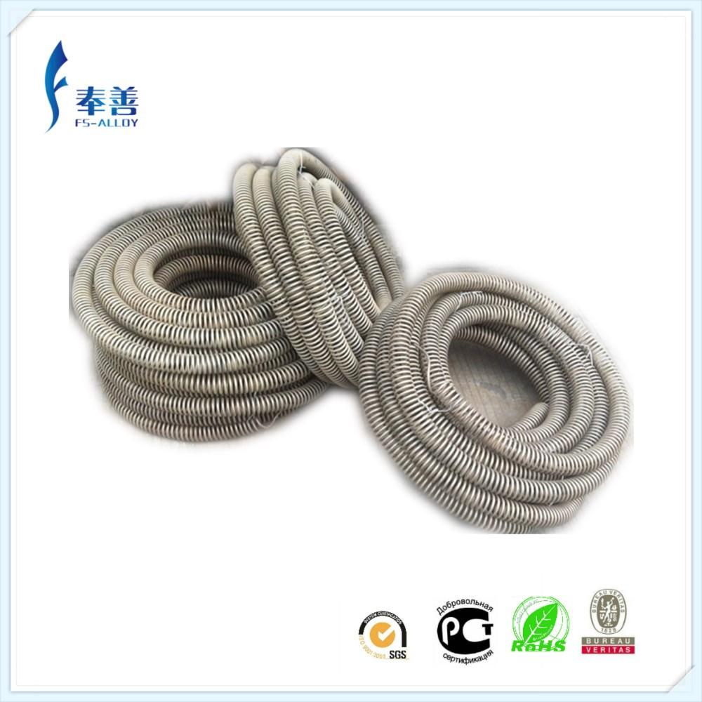 Cr20ni30 High Temperature Coil Electric Nichrome Wire Heating ...