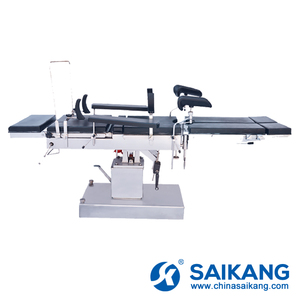 A3002 Multifunctional Head Controlled Hydraulic Surgical Room Operation Table For Surgery With C-Arm Compatible