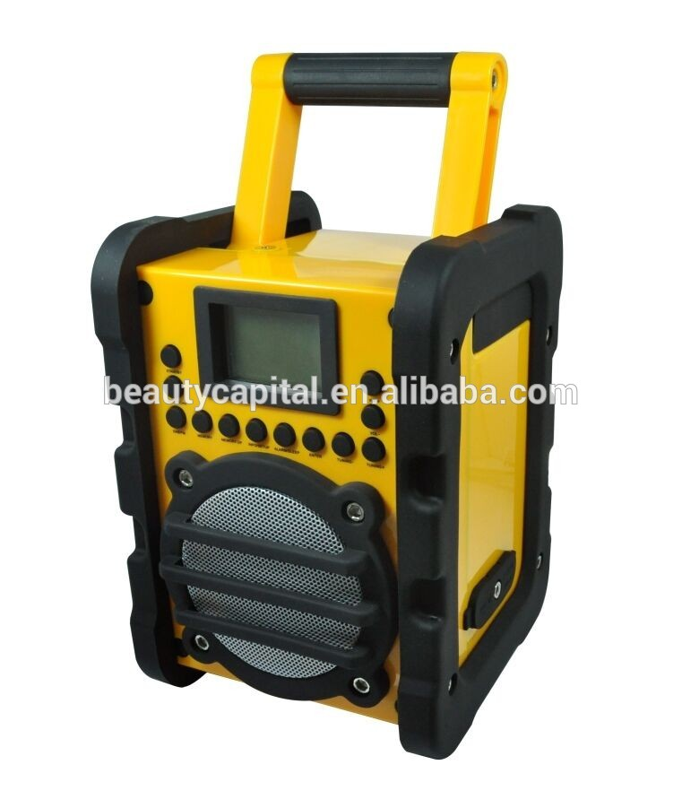 Portable Utility Work site shortwave radio transmitterBars Digital DAB/FM Radio