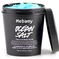 Private Label Cosmetic Natural and Organic Face and Body Scrub Ocean Salt Scrub
