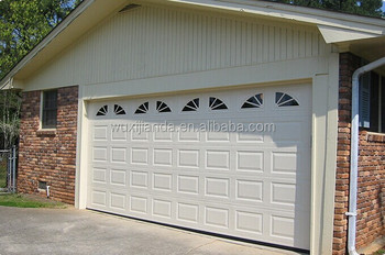 Remote Control Single/ Double Car Garage Door Residential Use