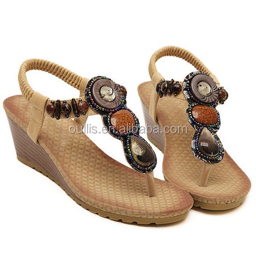 639e7e85966f Fashion Women Wedge Shoes Casual Ladies Fancy Shoes High Quality Footwear  Pm3583 - Buy Fashion Women Wedge Shoes