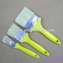 Hot sell cheap paint brushes set with Yellow plastic handle