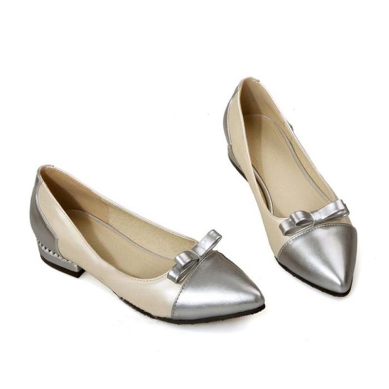 f3d33b1599 Verão Estilo Hot China Atacado Couro do PLUTÔNIO Superior Fechado Do Dedo  Do Pé Plana Sapatos