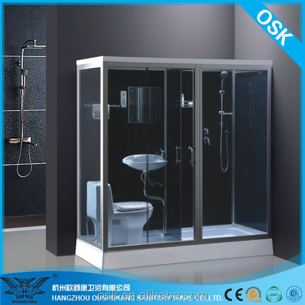 plage de si ge de cabine de douche avec wc lavabo salle de douche id de produit 268228418. Black Bedroom Furniture Sets. Home Design Ideas
