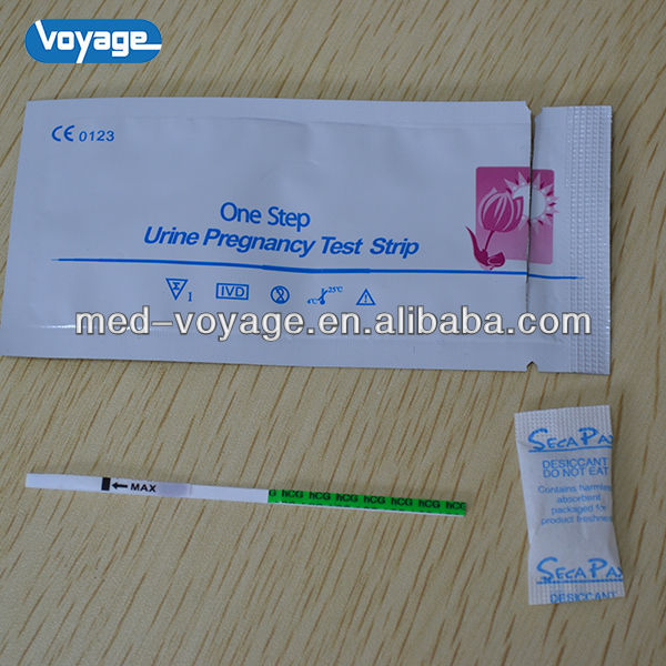 new style 2014 hot sale HCG pregnancy test strip