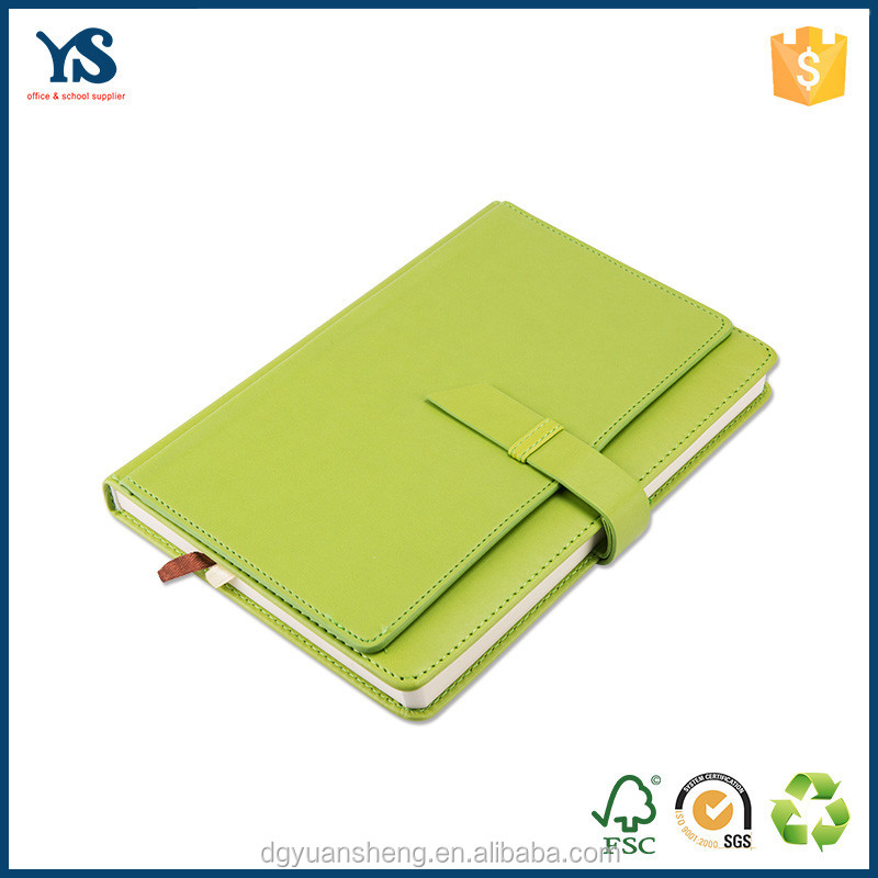 factory price leather cover pu notebook with a4 a5 a6 size from dongguan