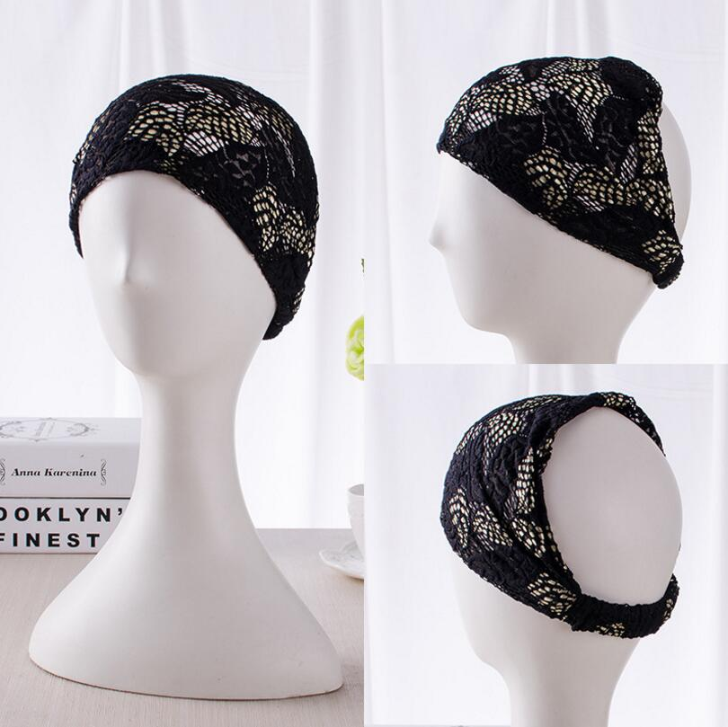 Fashion Lady Elastic Hair Ornament Headband Elastic Head Wrap F486
