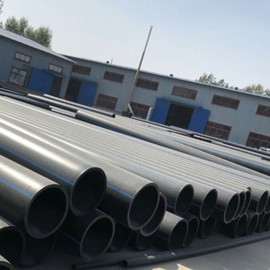 Water Supply Pipe Guarantee 50 Years large diameter plastic pipe HDPE water supply pipe