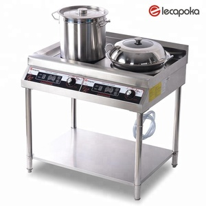 freestanding 5000W high power 2 burner electric cooktop with CE.