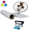 repositionable removable inkjet printable waterproof self adhesive coated glossy matte pp synthetic paper roll for printing
