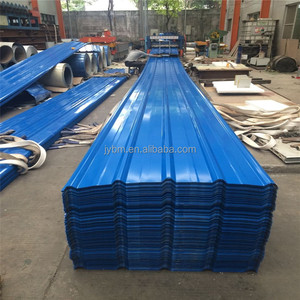single steel corrugated blue color 840mm roofing sheet for warehouse