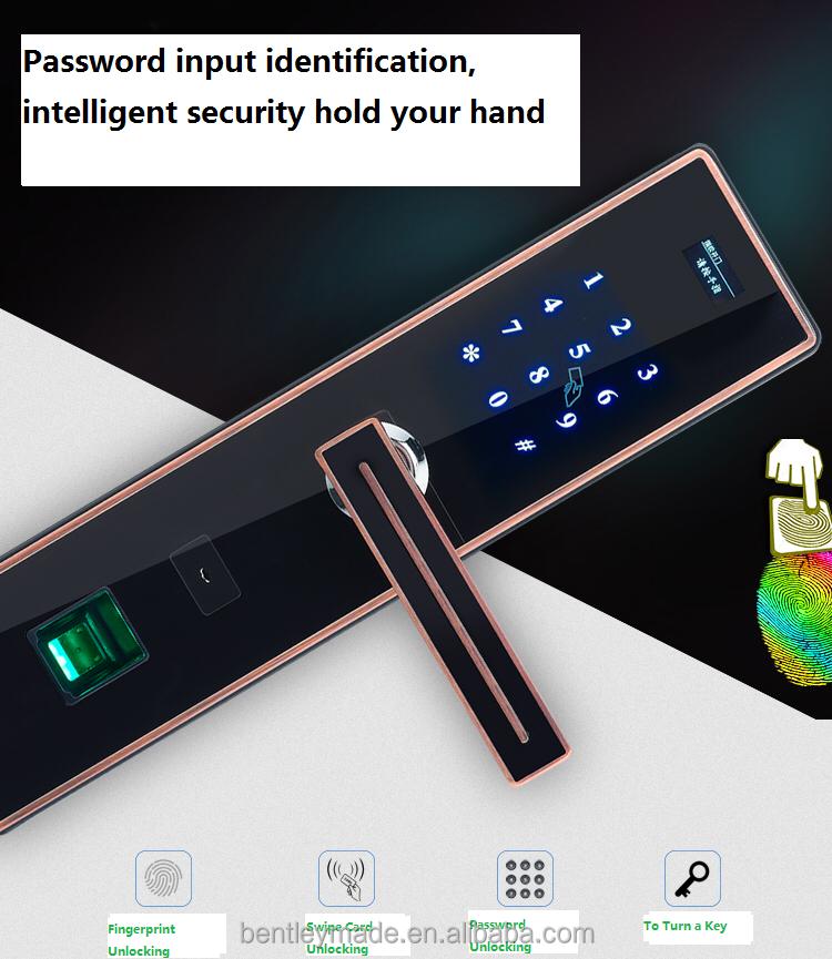 touchscreen elektronische t rschloss mit fingerprint schloss produkt id 60482916430 german. Black Bedroom Furniture Sets. Home Design Ideas