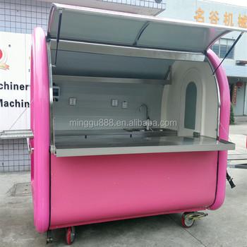 Mewah Makanan Burger Kios Gerobak Untuk Dijual Digunakan Mobile Dapur Panggang Mesin Sosis Sepeda