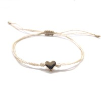 Zooying Tiny heart bracelet adjustable bracelet friendship adjustable bracelet