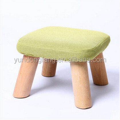 Fashion Decoration Mushroom Baby Sit Stool, Kids Square Folding Stool