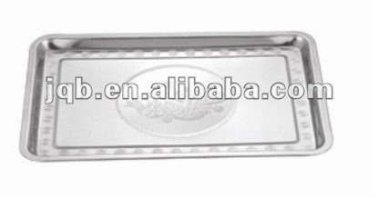 2012 new arriving Hot-sell Stainless Steel Tray with high quality and low price
