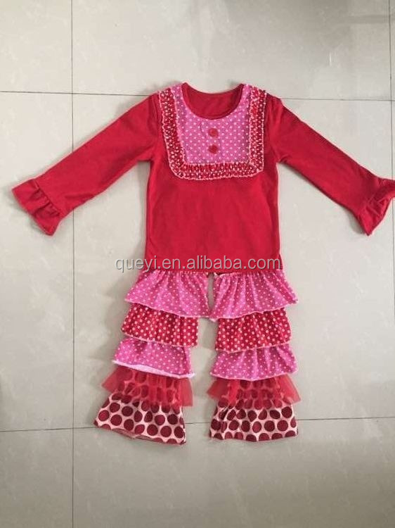 Girls Valentines Day Sets Valentines Day Outfits Baby Girl Children