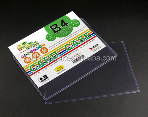 Alibaba China Office Supplies A3 A4 Size Hard Clear Plastic Card ...