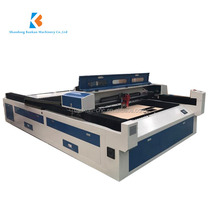 Live focus sytem following big size mixed co2 cnc laser cutting steel machine with the discount