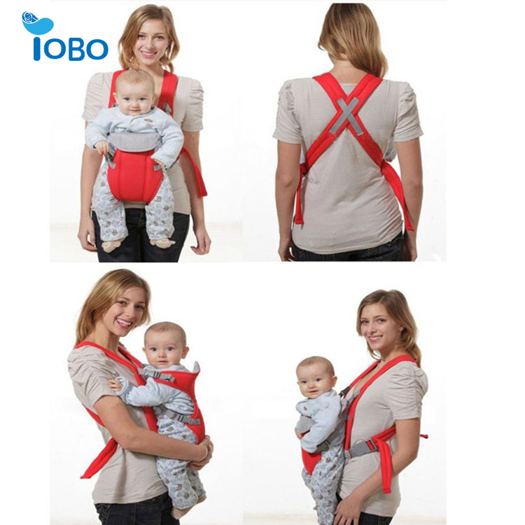 Multifunctional front baby carriers ergonomic design baby carrier 100% Organic Cotton baby walker with canopy
