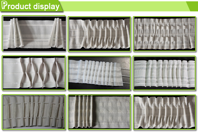 curtain head transparent curtain tape hook tape buy hook tape transparent curtain tape pleated. Black Bedroom Furniture Sets. Home Design Ideas