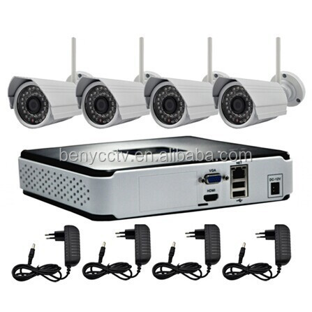 Hot!! 2.0Megapixels 1080P Outdoor WIFI IP Camera Economic wireless security camera kit