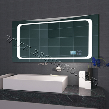 smart mp3 bathroom mirror with led light and bluetooth buy led bathroom mirror bathroom led. Black Bedroom Furniture Sets. Home Design Ideas