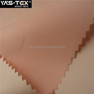 China Supplier PU Coated 100% Polyester Tricot Fabric For Bags