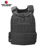 Military and army use outdoor combat tactical vest black color