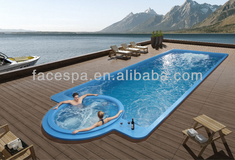 Large Size Endless Pool Swim Spa Manufacturing In 3m Width Buy