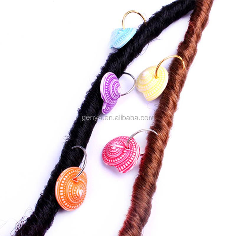 Genya Conch Hair Rings Braids Dreadlock Coils Hair Rings Braid Accessories Hair Rings For Dreadlocks Buy Dreadlock Cuff Braid Cuffs Ring Beads Jewelry Product On Alibaba Com