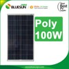 25 year warrenty Bluesun high quality solar pv module 100wp