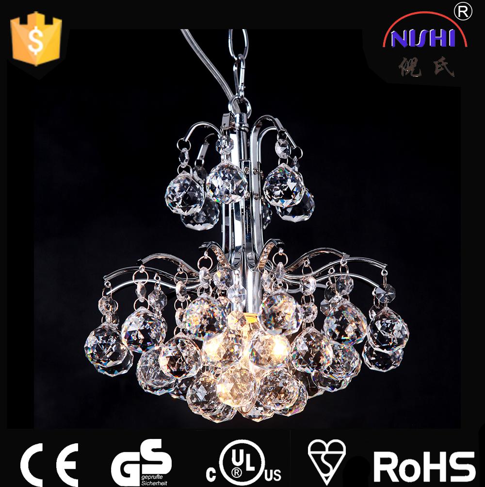 Mariages décoration chinois lustre lampe à huile en verre post moderne pendentif