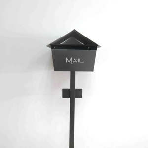 hotsale Outdoor Free Standing powder coating Mailboxes with post
