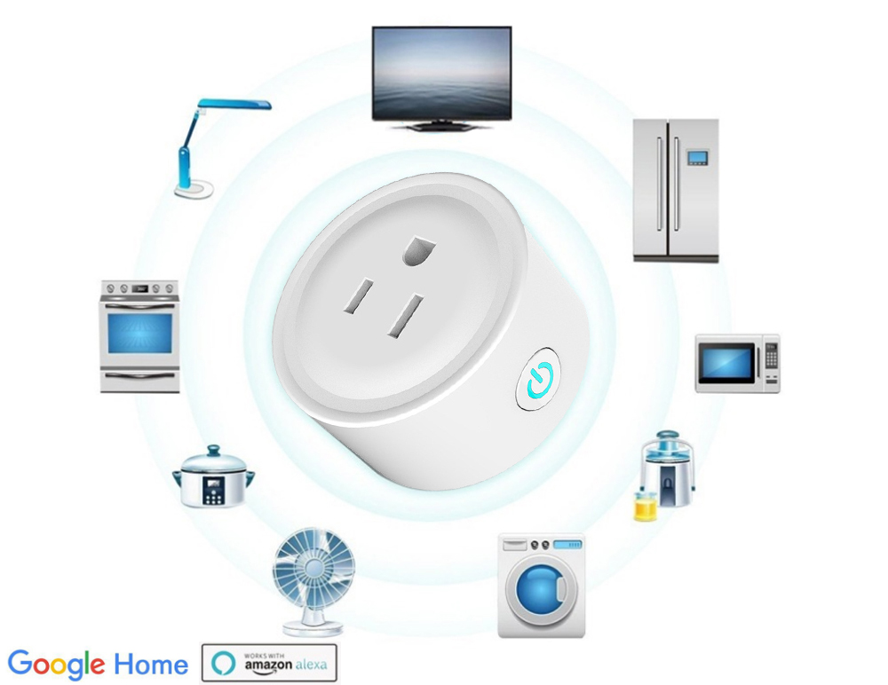 Automation Phone Remote Control Wifi Smart Plug Socket working with Amazon Alexa echo and Google SMART SOCKET WIFI