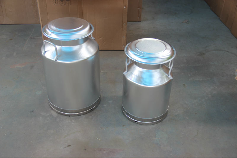 Stainless Steel 5 Gallon Milk Cream Can Bucket Milker Pail