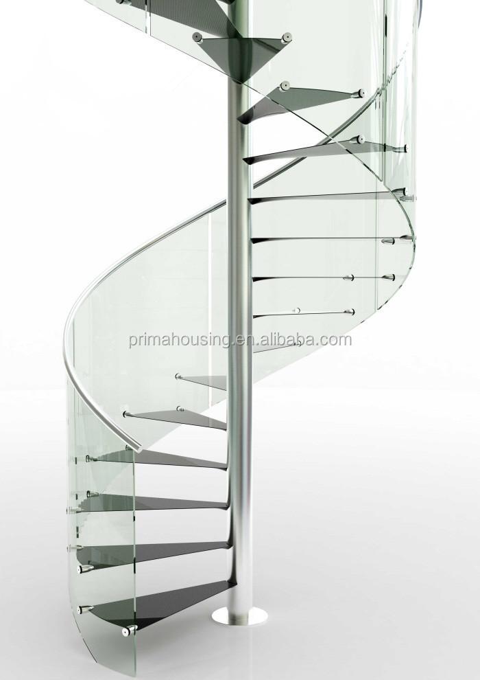 Marvelous Luxury Residential Internal Wood Circle Stairs