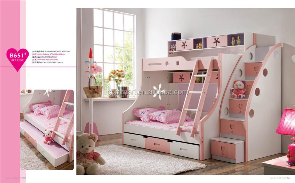 2014 leuk ontwerp kleurrijke kind meubelen slaapkamer ingesteld jongens slaapkamer kinderkamer - Slaapkamer kleur meisje ...