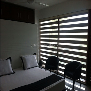 Factory supplier High quality Fabric Zebra Roller shades blinds for bedroom