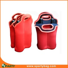 Wholesale neoprene cooler bag wine carrier