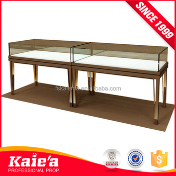 Retail glass jewelry display furniture