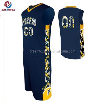 7393610e7a3 Sublimation Custom Digital Camo Basketball Uniforms jerseys ...