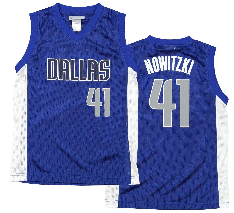 eaafdb15b Buy Dirk Nowitzki Dallas Mavericks  41 NBA Youth Short Sleeve Jersey ...